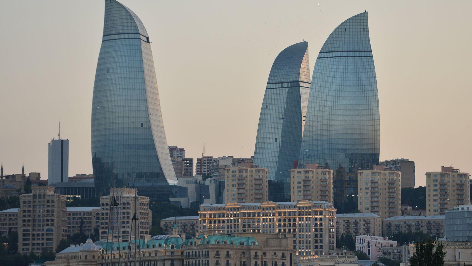 Пламенные башни в Баку - Sputnik Грузия, 1920, 29.09.2021