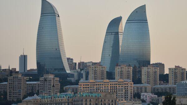 Пламенные башни в Баку - Sputnik Грузия