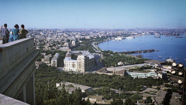Панорама Баку - Sputnik Грузия