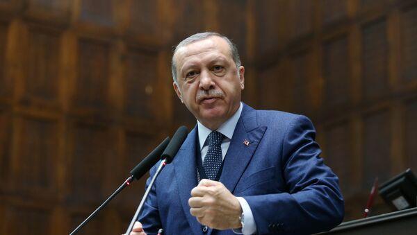 Президент Турции Таип Реджеп Эрдоган - Sputnik Грузия