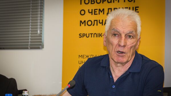 Лидер партии За единую Грузию Тамаз Мечиаури - Sputnik Грузия