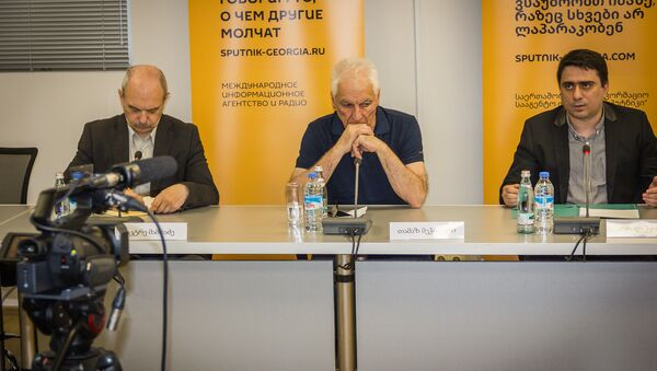 მრგვალი მაგიდა ქართულ-რუსული ურთიერთობების პერსპექტივები - Sputnik საქართველო