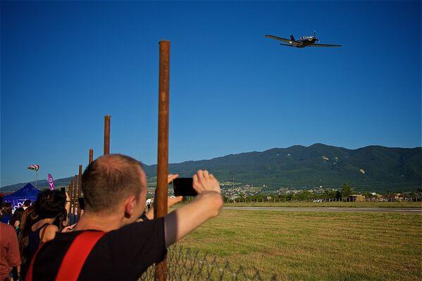 Авиафестиваль был организован с целью развития туризма в Грузии и популяризации воздушного спорта и развлечений - Sputnik Грузия