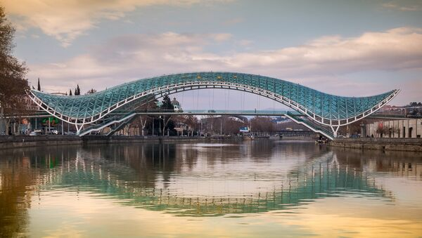 Мост мира в Тбилиси - Sputnik Грузия