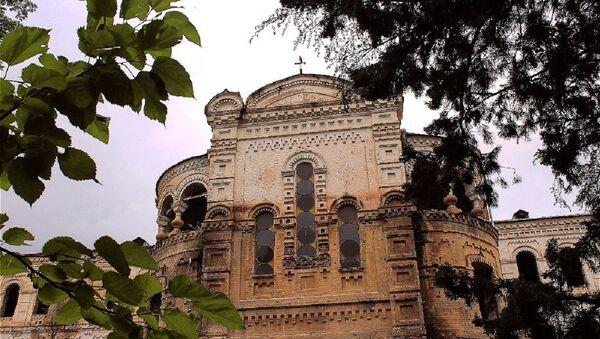 Здание бывшей Духовной семинарии - Sputnik Грузия