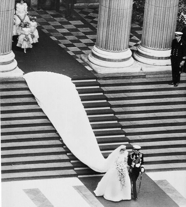 Это была грандиозная Свадьба Века, за которой, затаив дыхание, следил, кажется, весь мир - Sputnik Грузия