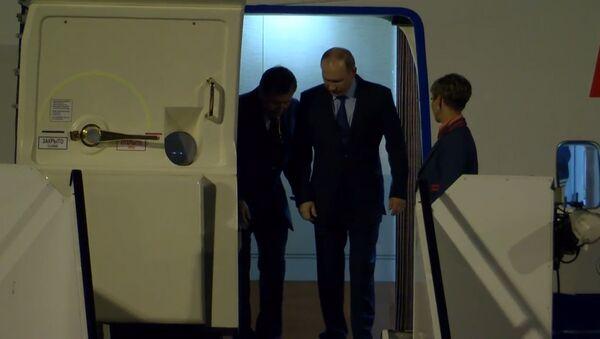 Прибытие  Владимира Путина в Гамбург на саммит G20 - Sputnik Грузия