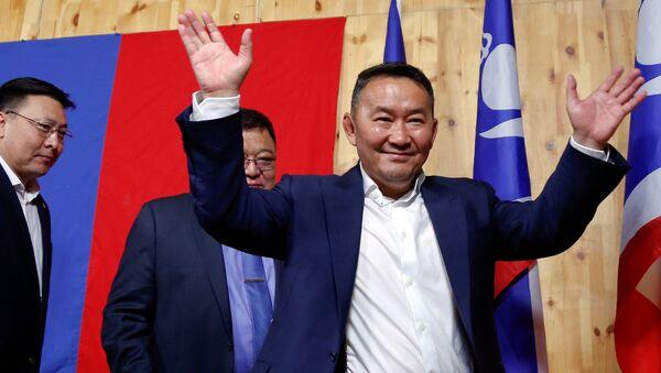 Избранный президент Монголии Халтмаагийн Баттулга - Sputnik Грузия