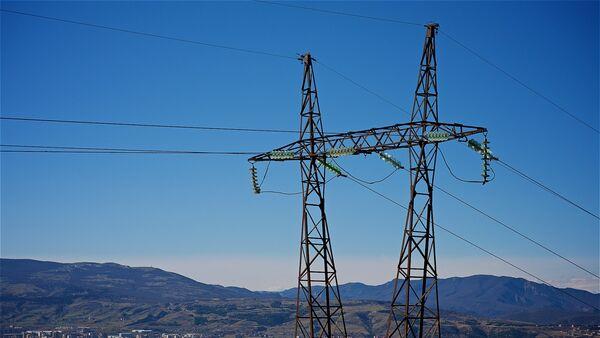 Высоковольная линия электропередач - Sputnik Грузия