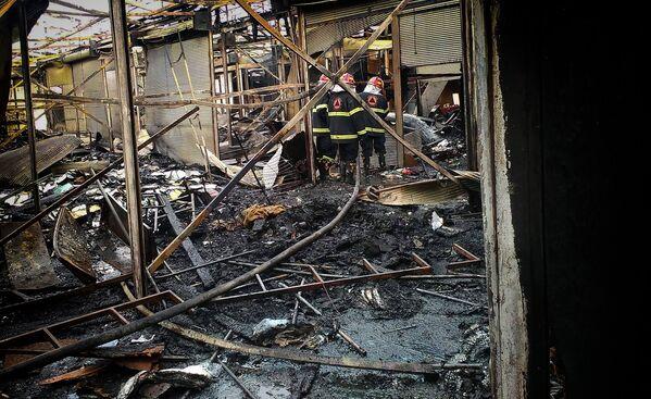 По факту пожара возбуждено уголовное дело, ведется следствие - Sputnik Грузия