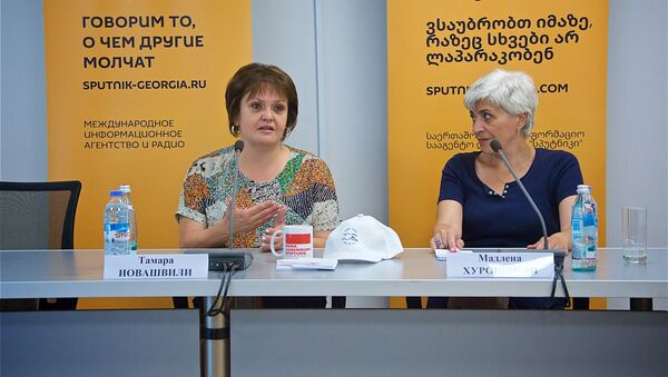 ბრიფინგი უსახლკაროთა უფლებების პრობლემებთან დაკავშირებით - Sputnik საქართველო