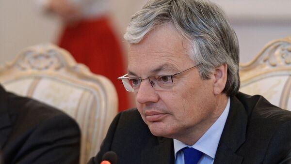 Министр иностранных дел Бельгии, председатель Комитета министров Совета Европы Дидье Рейндерс - Sputnik Грузия