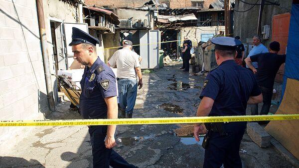 Последствия пожара на Дезертирском рынке: кадры с места ЧП - Sputnik Грузия