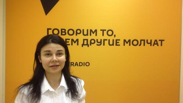 Эльмира Мирзоева - Sputnik Грузия