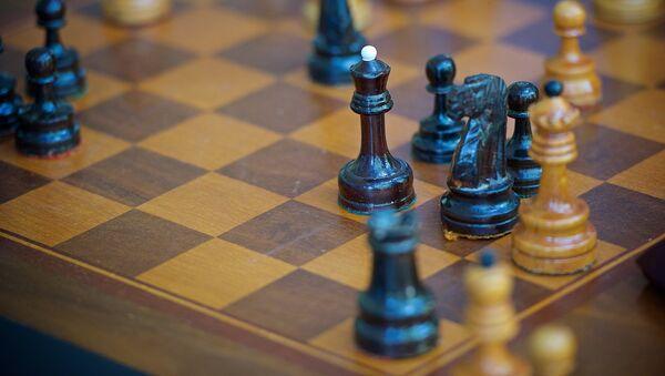 Шахматная доска в тбилисском Дворце шахмат - Sputnik Грузия