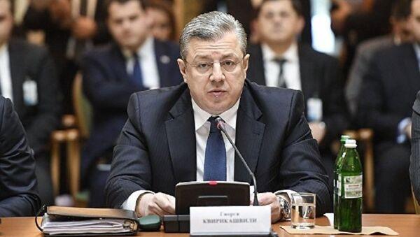 საქართველოს პრემიერ-მინისტრი გიორგი კვირიკაშვილი სუამ-ის სამიტზე კიევში - Sputnik საქართველო