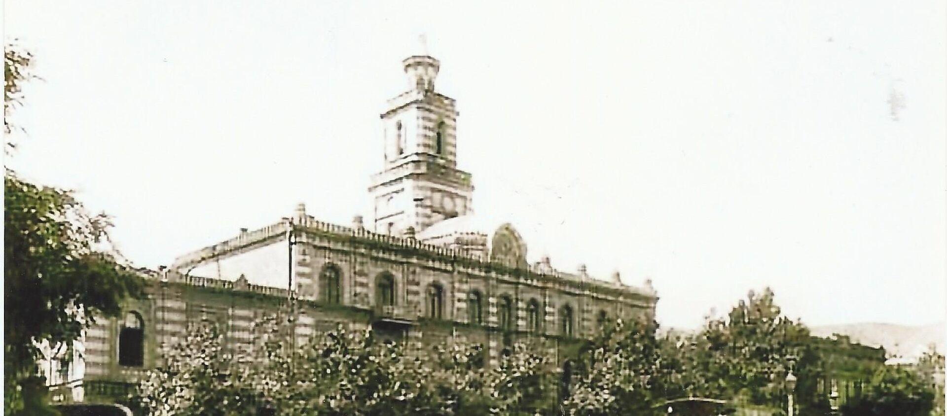 Эриванская площадь, где происходил знаменитый экс - Sputnik Грузия, 1920, 03.05.2018