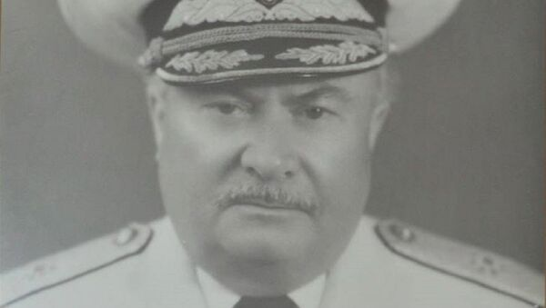 Бывший командующий Военно-морскими силами Грузии Александр Джавахишвили - Sputnik Грузия