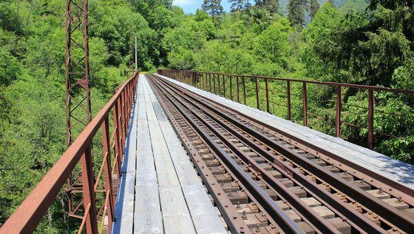 Железная дорога между Боржоми и Бакуриани - Sputnik Грузия