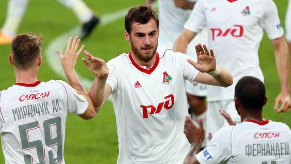 Игрок Локомотива Соломон Кверквелия - Sputnik Грузия