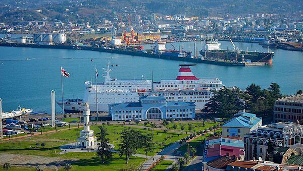 Морской порт в Батуми - Sputnik Грузия