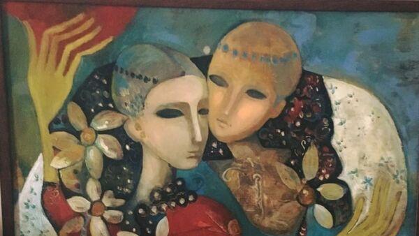 ელენა ინჯიას ნახატი - Sputnik საქართველო