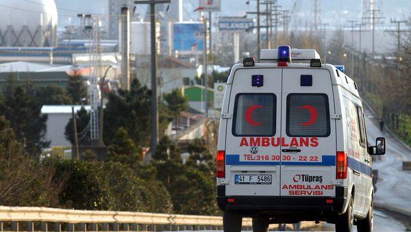 Скорая помощь в Турции. Архивное фото - Sputnik Грузия