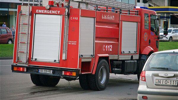 Пожарная машина - Sputnik Грузия