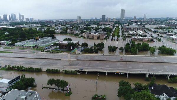 Наводнение в Хьюстоне в результате урагана - Sputnik Грузия