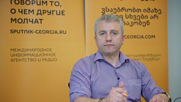 Основатель компании Bitcoin Embassy Georgia Алекс Судадзе - Sputnik Грузия