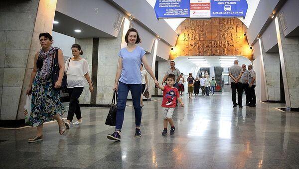 Станция тбилисского метро - Sputnik Грузия