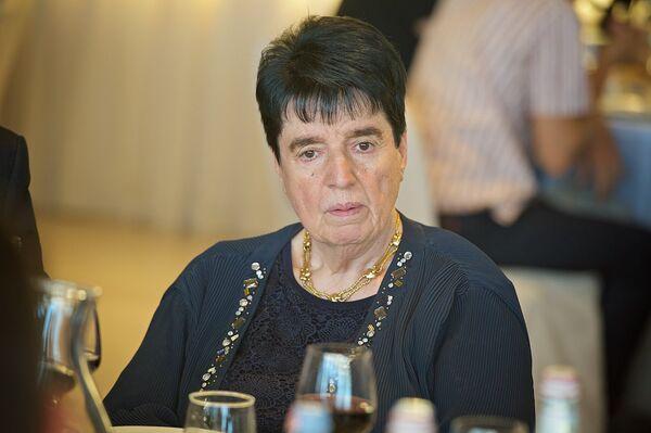 Шахматист Нона Гаприндашвили на открытии шахматного турнира - Sputnik Грузия