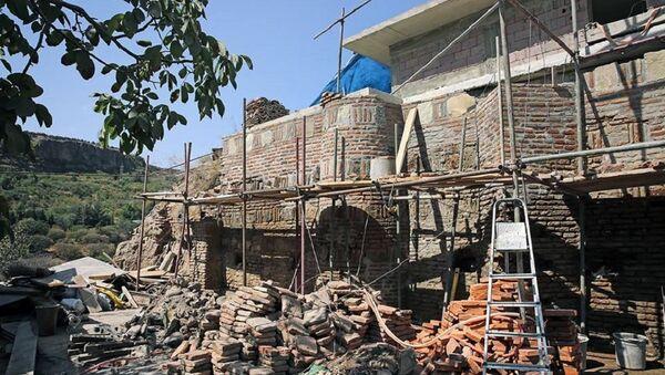 Восстановление крепости Нарикала в Тбилиси - Sputnik Грузия