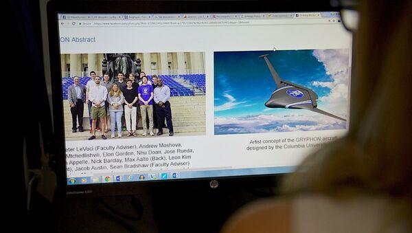 Проект самолета будущего, разработанный студентами Колумбийского университета Нью-Йорка - Sputnik Грузия