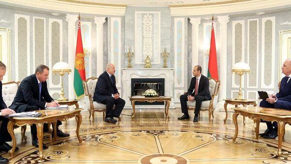 Встреча Александра Лукашенко и Михаила Джанелидзе - Sputnik Грузия