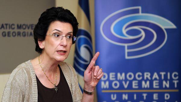 Политик Нино Бурджанадзе - Sputnik Грузия