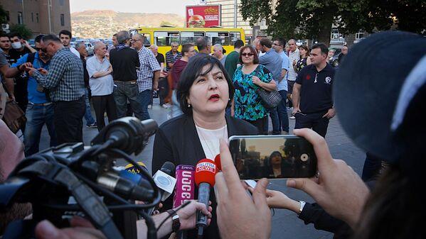 Несмотря на слова Каладзе, организаторы и сторонники движения Грузинский марш сделали заявления о том, что собираются продолжить свои акции протеста - Sputnik Грузия