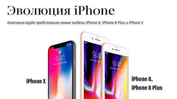 Эволюция iPhone - Sputnik Грузия
