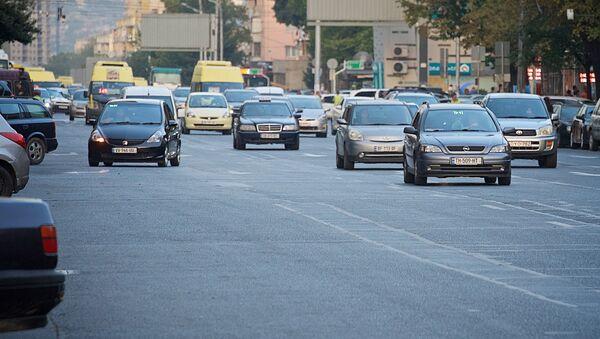 Машины на улицах столицы Грузии - Sputnik Грузия