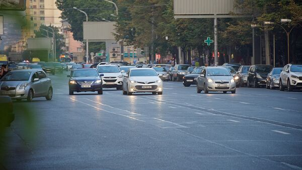 ავტომობილები თბილისის ქუჩებში - Sputnik საქართველო