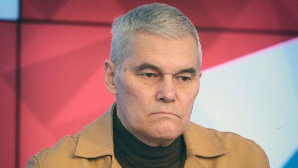 Член-корреспондент Российской академии ракетных и артиллерийских наук Константин Сивков - Sputnik Грузия