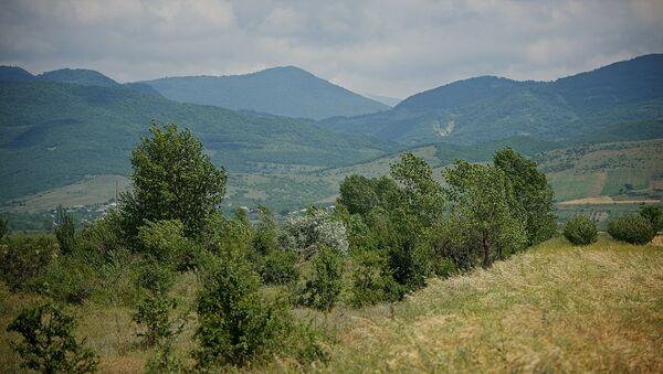 Долина и горы - Sputnik Грузия