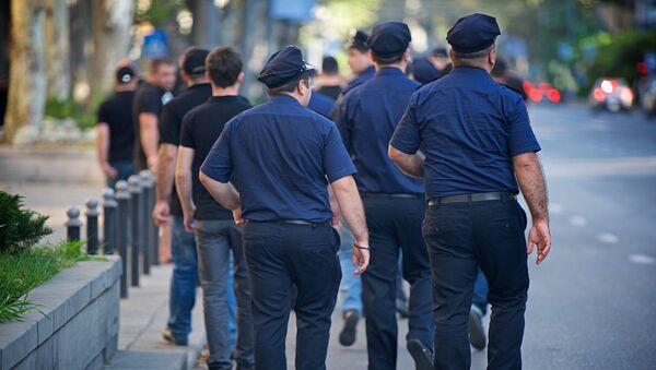 Сотрудники полиции - Sputnik Грузия