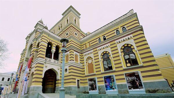 Тбилисский театр оперы и балета, после реставрации - Sputnik Грузия