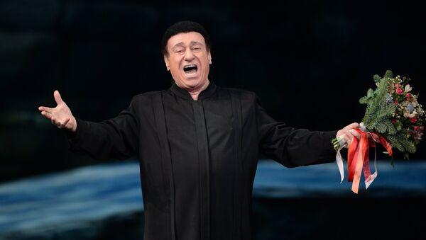 Оперный певец Зураб Соткилава на гала-концерте Браво, Елена в Государственном академическом Большом театре в Москве - Sputnik Грузия