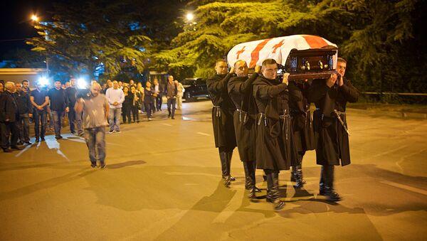 В столицу Грузии доставили гроб с телом знаменитого оперного певца Зураба Соткилава - Sputnik Грузия