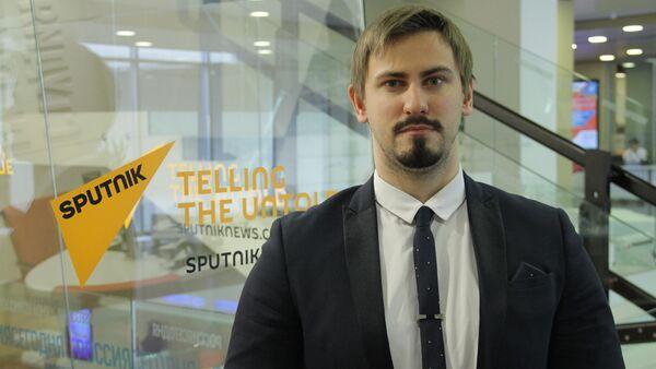 Политолог Никита Данюк - Sputnik Грузия