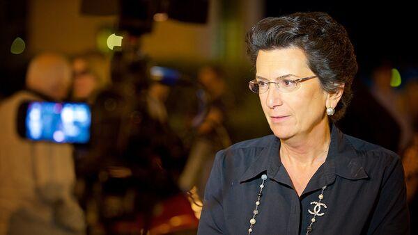Экс-спикер парламента Грузии, лидер оппозиционной партии Демократическое движение Нино Бурджанадзе - Sputnik Грузия