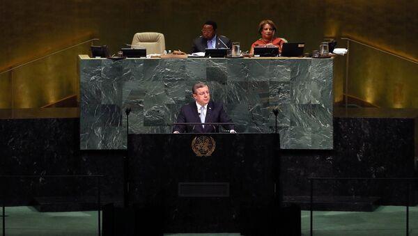 Премьер Грузии на ГА ООН - Sputnik Грузия