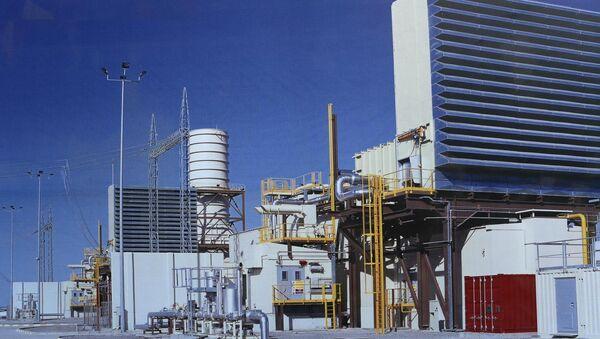 Тепловая электростанция комбинированного типа в Гардабани - Sputnik Грузия